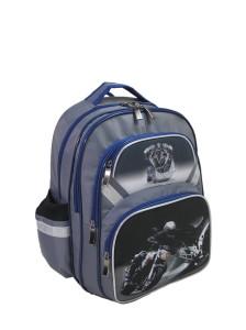 Модель 546 (для мальчиков) - серый | Ранцы, рюкзаки